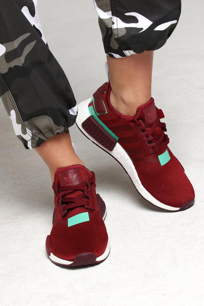 Adidas Women's NMD_R1 Burgundy