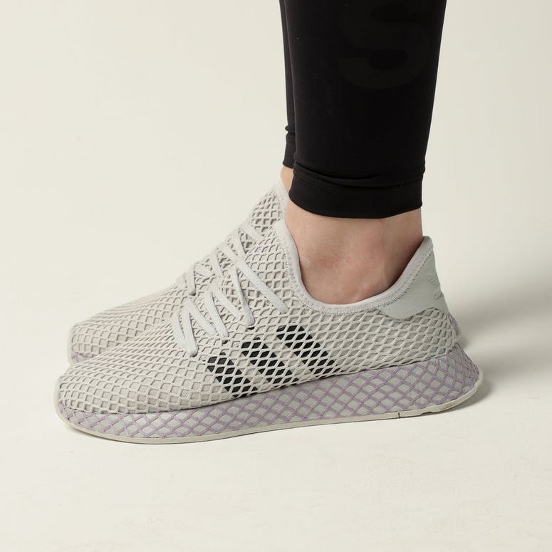 Adidas Women's Deerupt Runner Grey/Carbon/Sofvis