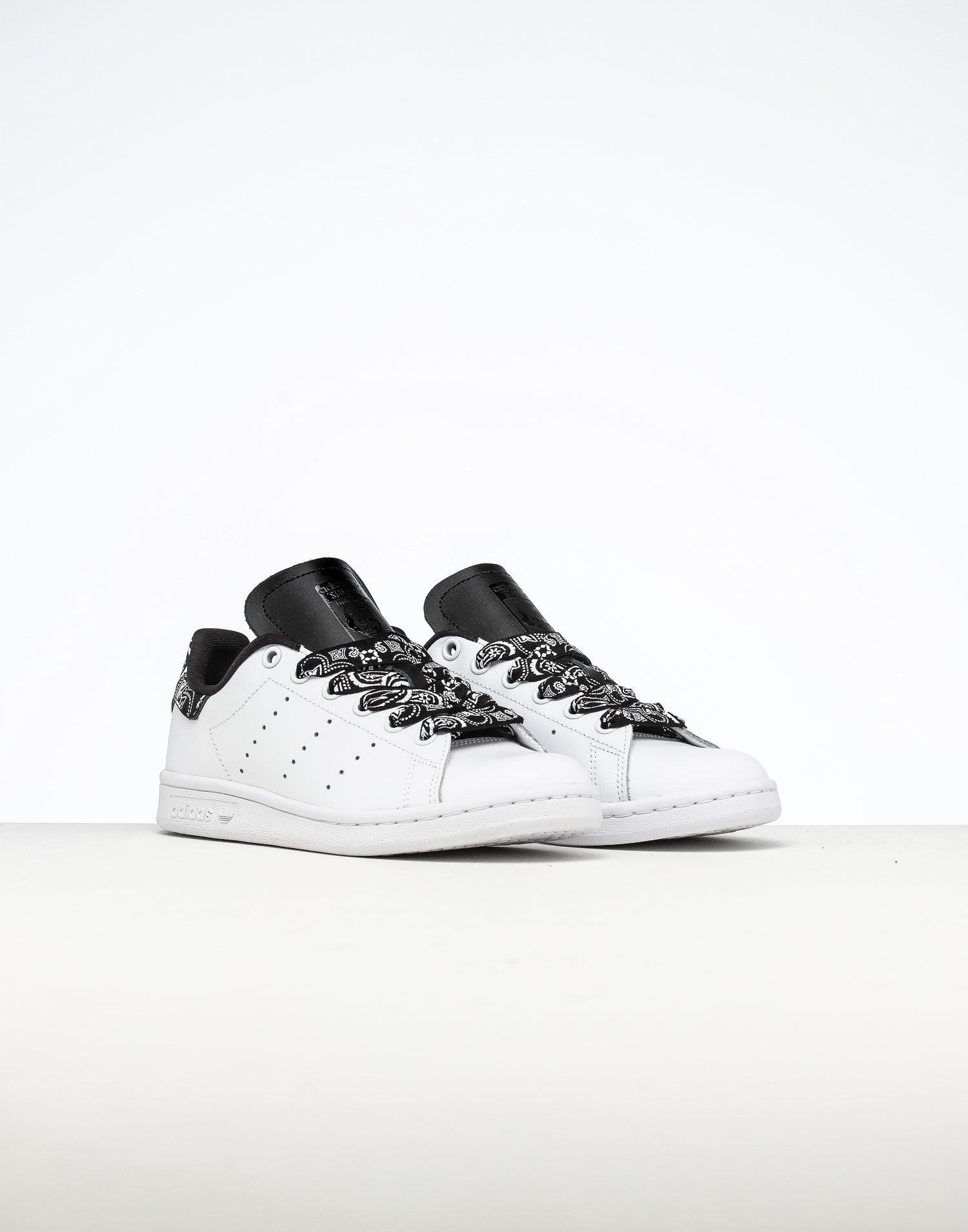 Adidas Kids Stan Smith J White/White/Black | Culture Kings