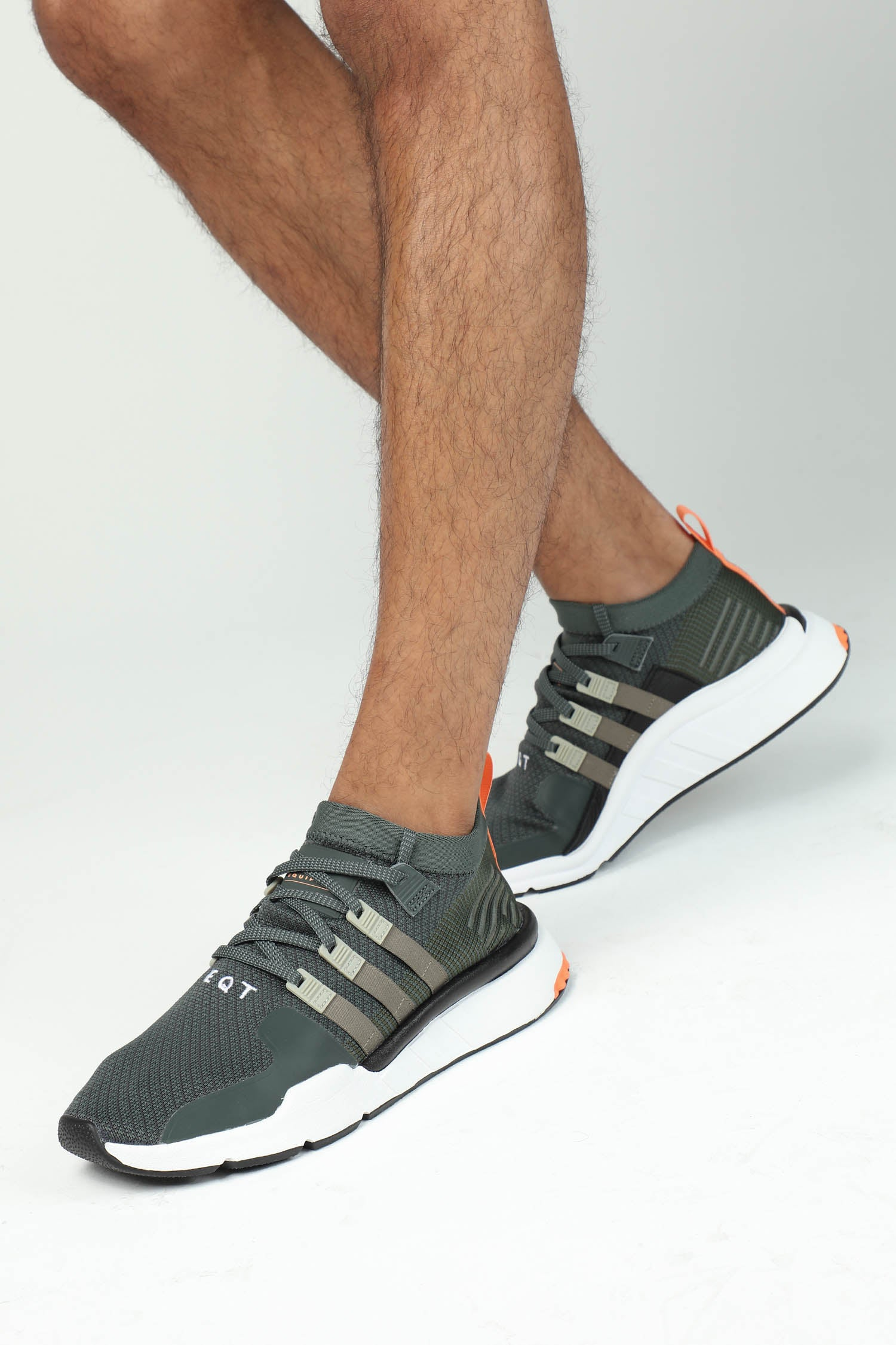 Black And White Adidas Crop Top Eqt Support Adv Cargo Green