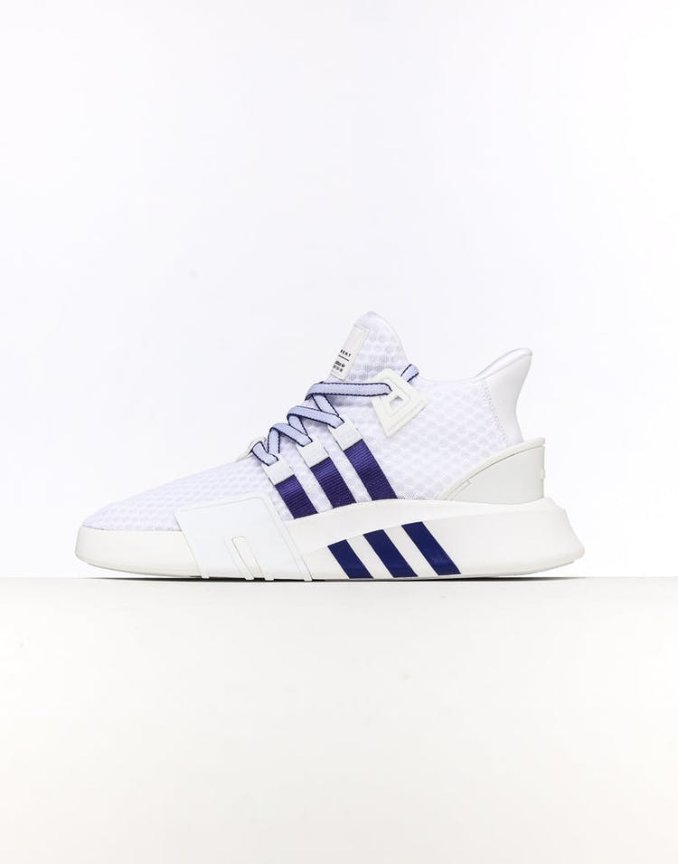 pretty nice aaa87 1e5ef Adidas EQT Bask ADV White/Blue/Black