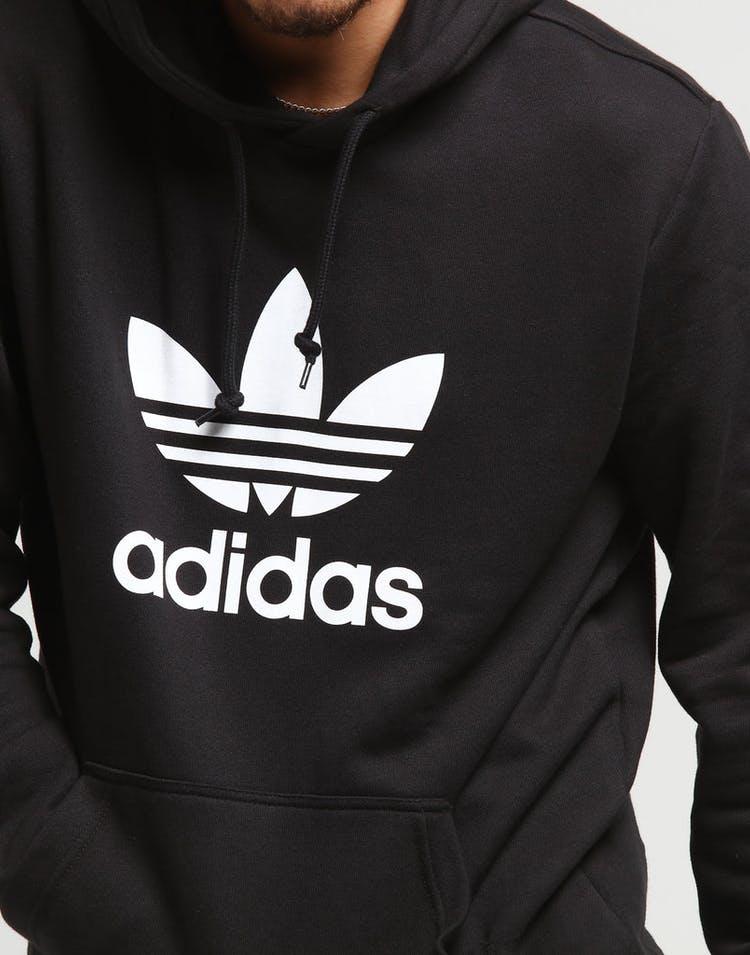 88acd595 Adidas Trefoil Hoodie Black – Culture Kings