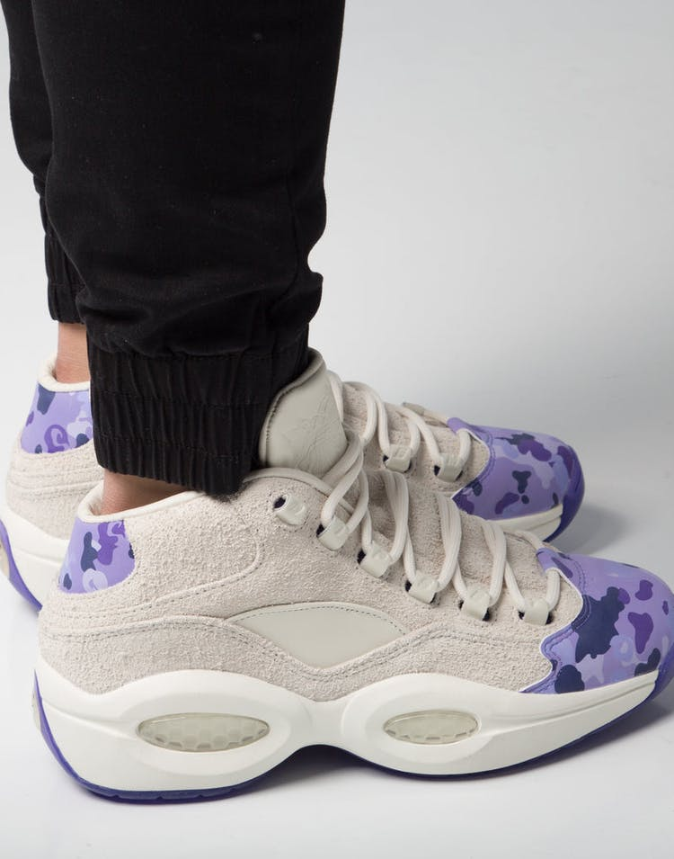 344c01c94be Reebok Question Mid Cam ron White Purple – Culture Kings