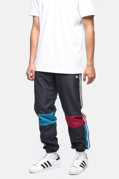 Adidas Asymm Track Pant Carbon/Teal/Berry