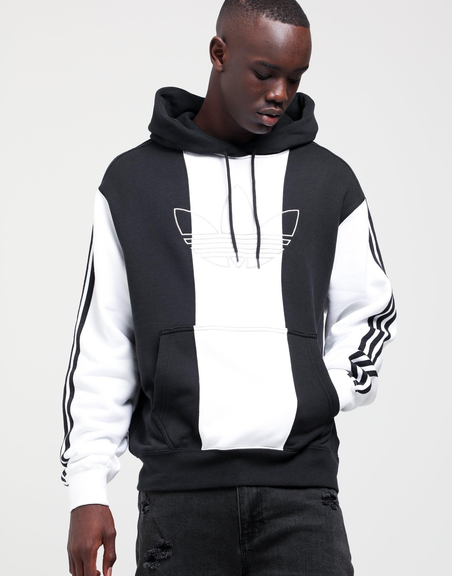 adidas Originals Off Court Trefoil Hoodie | Blue | Pullover