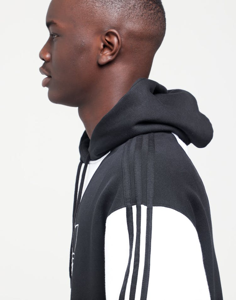 59d94e23 Adidas Off Court Trefoil Hoodie Black/Black/White