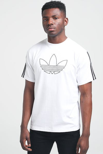 Adidas Outline TRE Tee White