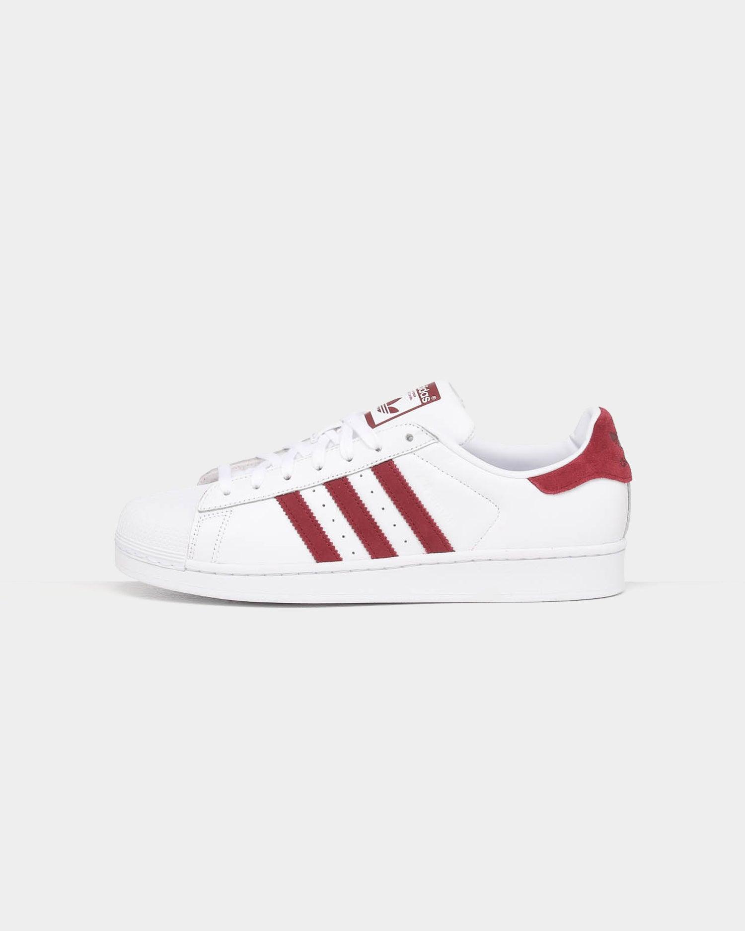 Adidas Superstar WhiteBurgundy