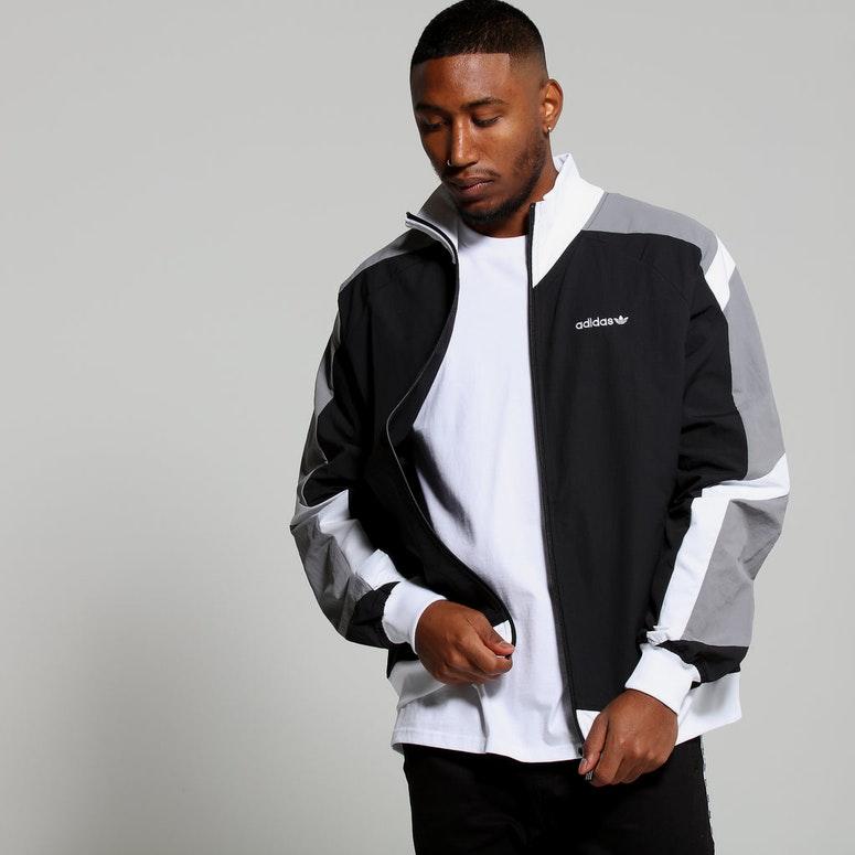 vast selection outlet online in stock Adidas EQT Blocked Wind Jacket Black