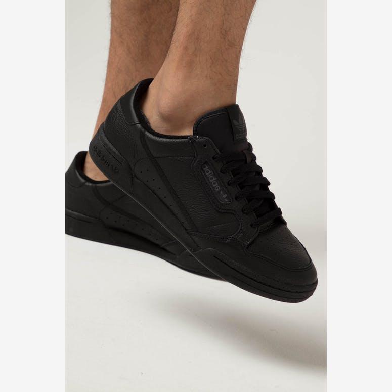 4b94a3235d3e80 Adidas CONTINENTAL 80 Black Black – Culture Kings