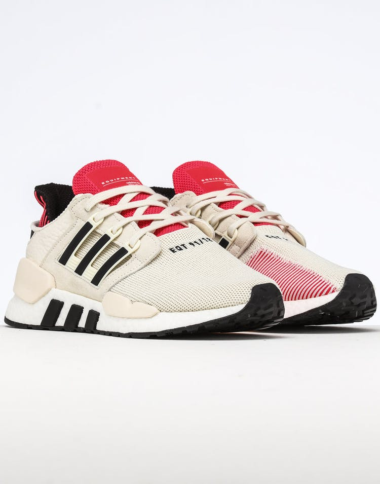 buy online 2e892 5ed1d Adidas EQT Support EQT Support 91/18 White/Black/Red