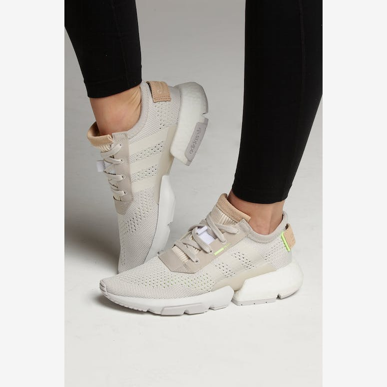 Adidas Women s POD-S3.1 White Yellow – Culture Kings ef3caefcf