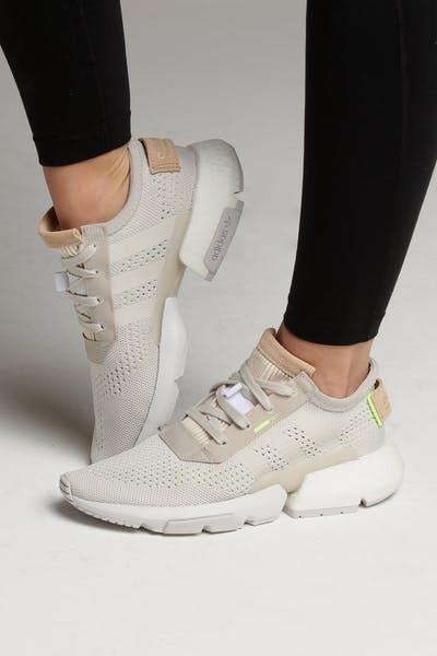 Adidas Women s POD-S3.1 White Yellow f1ec67a16dd