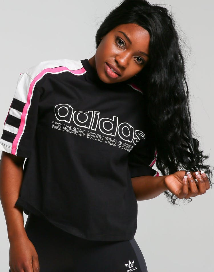 712a3733 Adidas Originals Women's OG Tee Black – Culture Kings