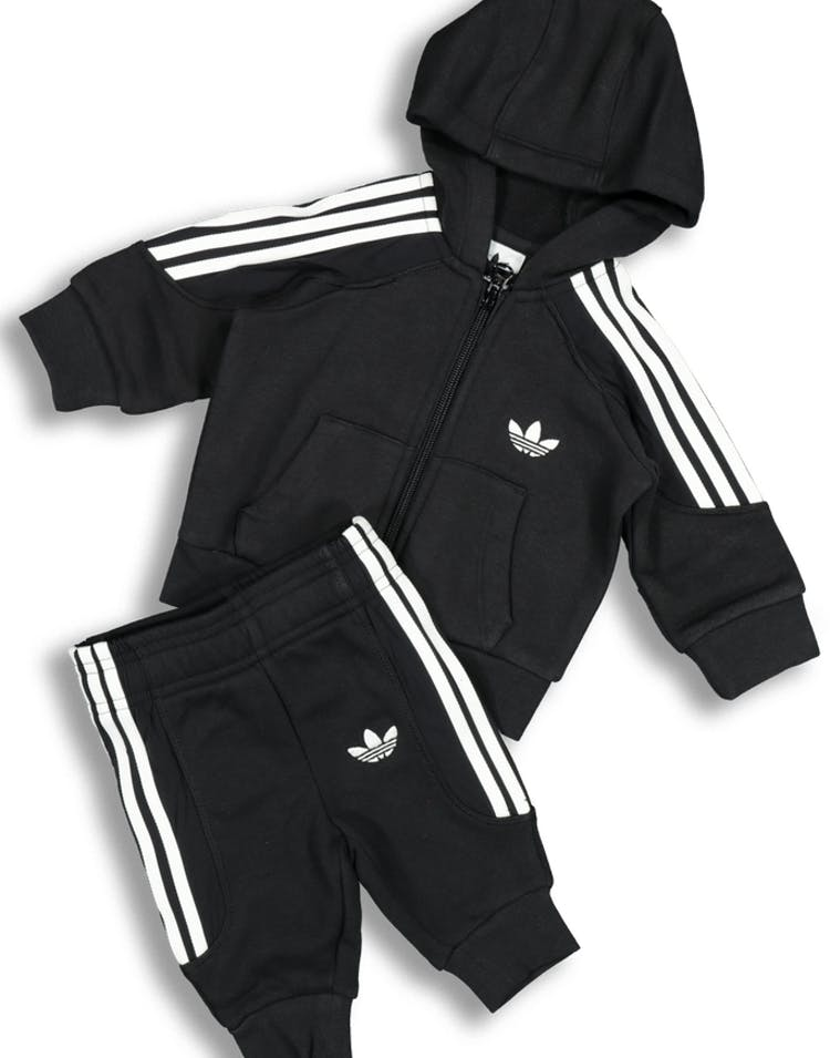 be0aed4702 Adidas Kids Radkin Hoodie Set Black/White – Culture Kings