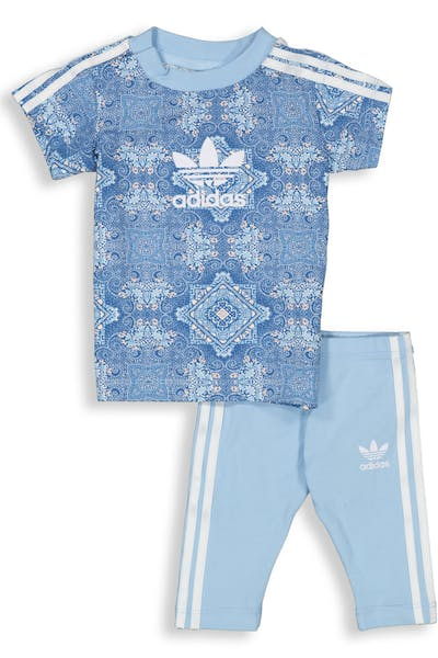 Adidas CC Tee Set White/Multi-Coloured