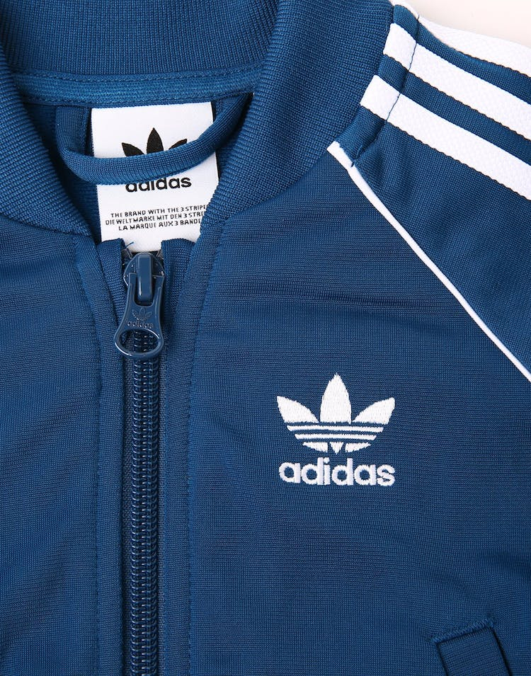Adidas Kids Superstar Suit Navy/White