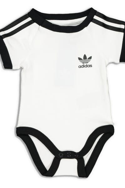 Adidas Kids 3 Stripes Body White/Black