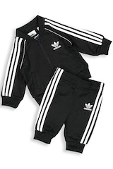 ADIDAS KIDS SUPERSTAR SUIT BLACK/WHITE
