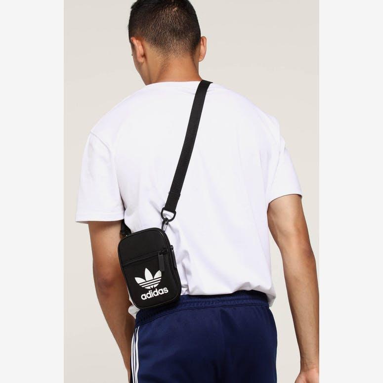 Adidas Trefoil Festival Bag Black – Culture Kings e3eee5ccaff55