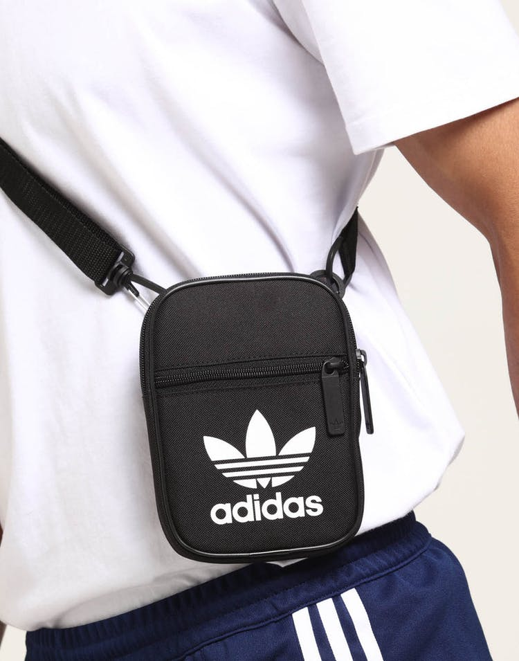 aab2deed2f Adidas Trefoil Festival Bag Black