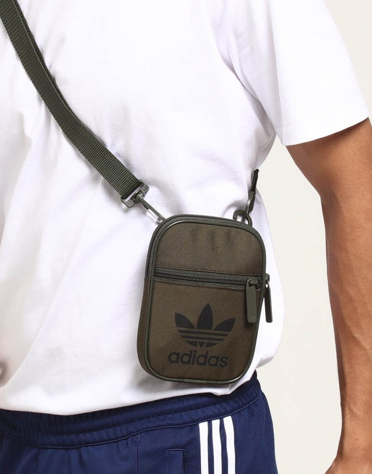 fc757d2fc0 Adidas Trefoil Festival Bag Olive