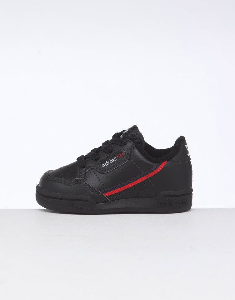 5297ce62 Adidas Toddler Continental 80 Black/Red/Navy