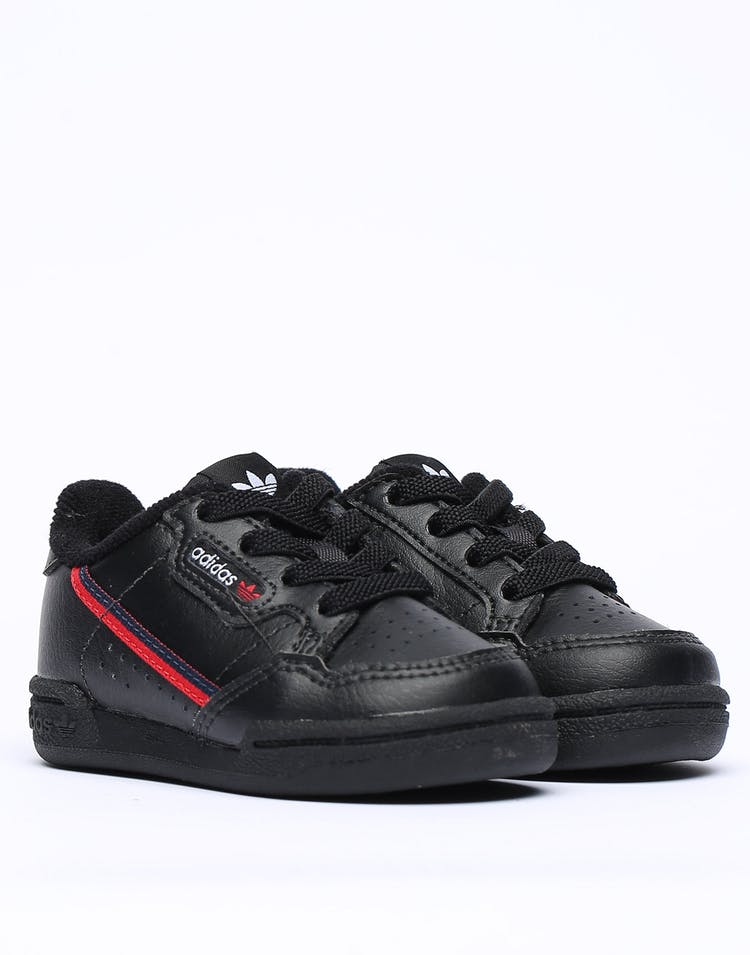 Adidas Toddler Continental 80 Black/Red/Navy