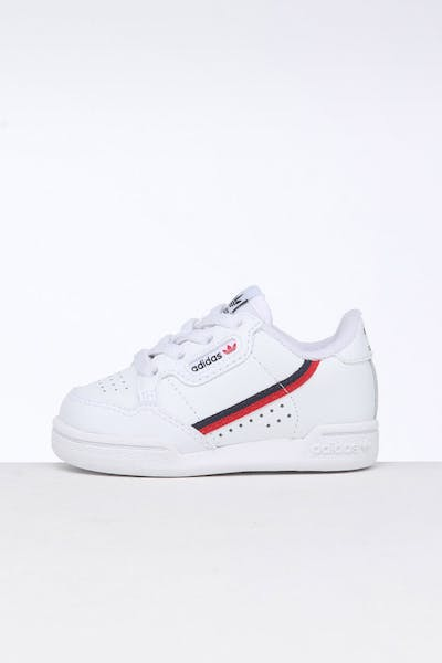 Adidas Toddler Continental 80 White/Red/Navy