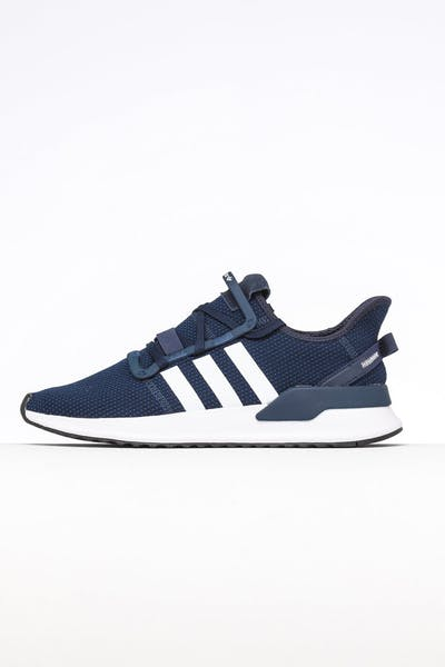 the best attitude b602b 23e16 Adidas U Path Run Navy White Black