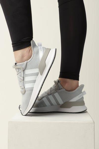 7709192b35718 Adidas Women s U Path Run Grey White Black