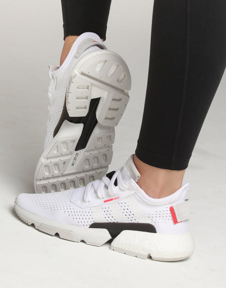 f3df0d743848a Adidas Women s POD-S3.1 White White Red – Culture Kings