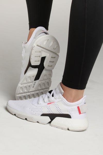 Adidas Women s POD-S3.1 White White Red 2a4123a29bb