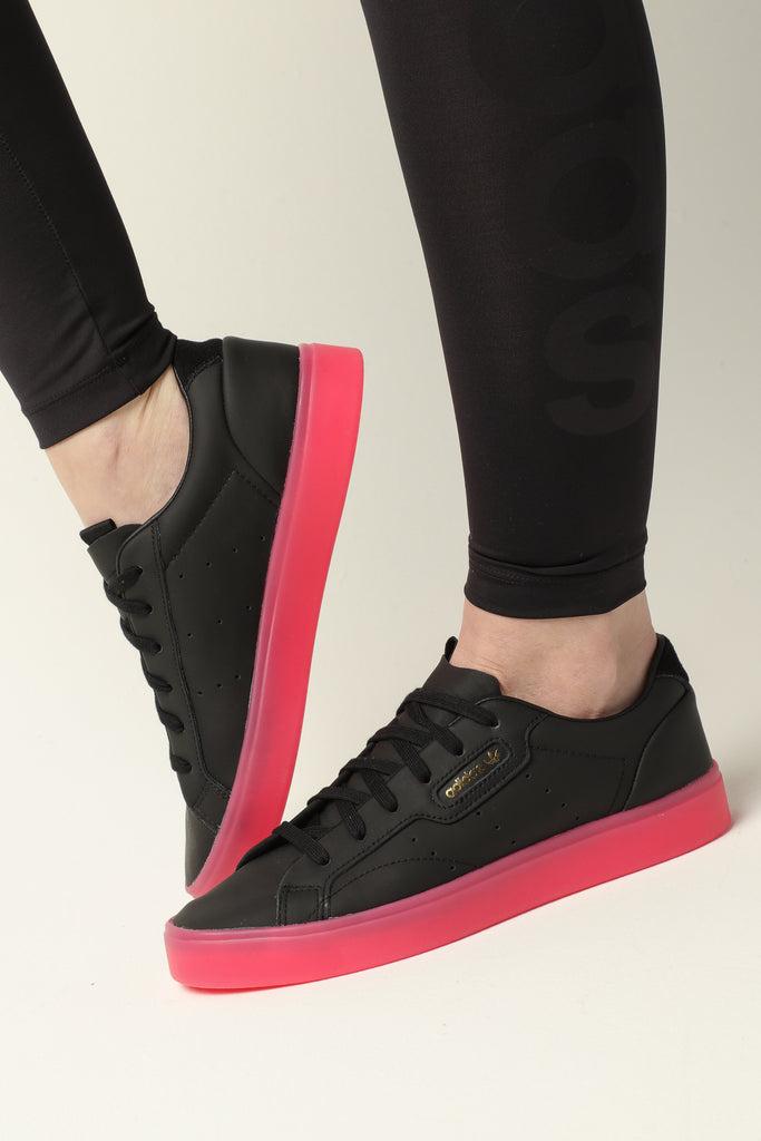 Adidas Women's Adidas Sleek BlackPink