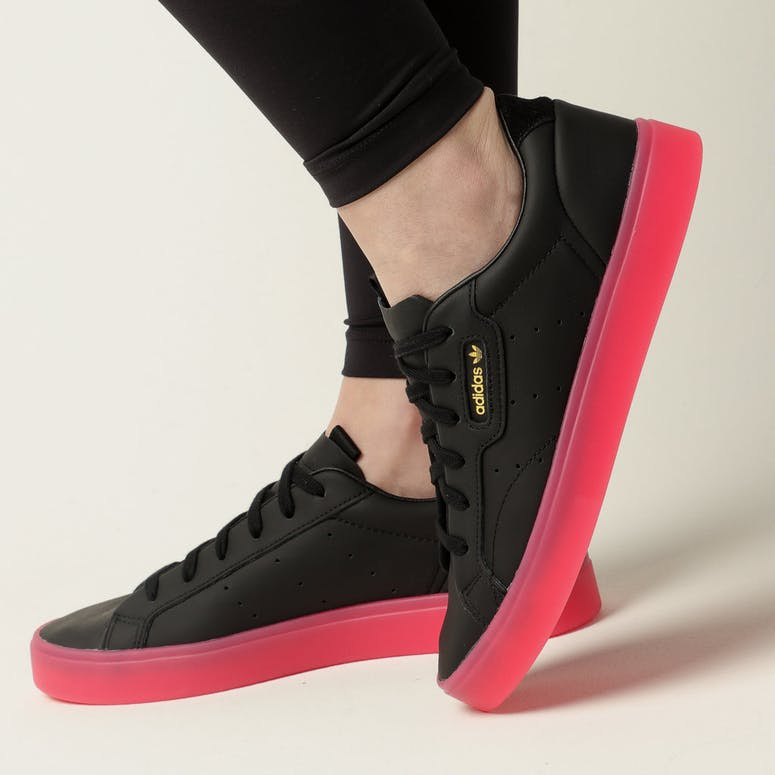 Adidas Women's Adidas Sleek Black/Pink