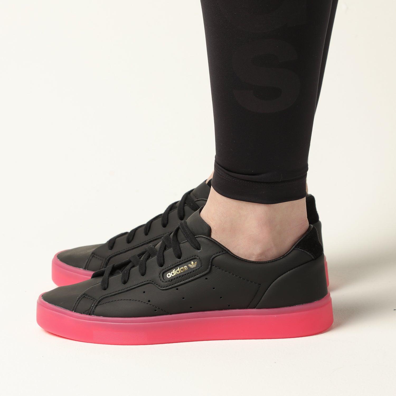 Adidas Women's Adidas Sleek Black/Pink