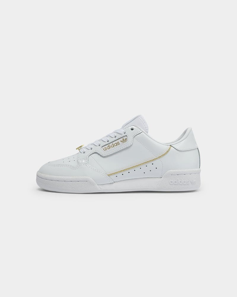 palanca Quinto Juntar  Adidas Women's Continental 80 White/Gold/Black | Culture Kings