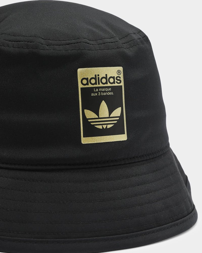 Adidas Bucket Hat Black/Gold