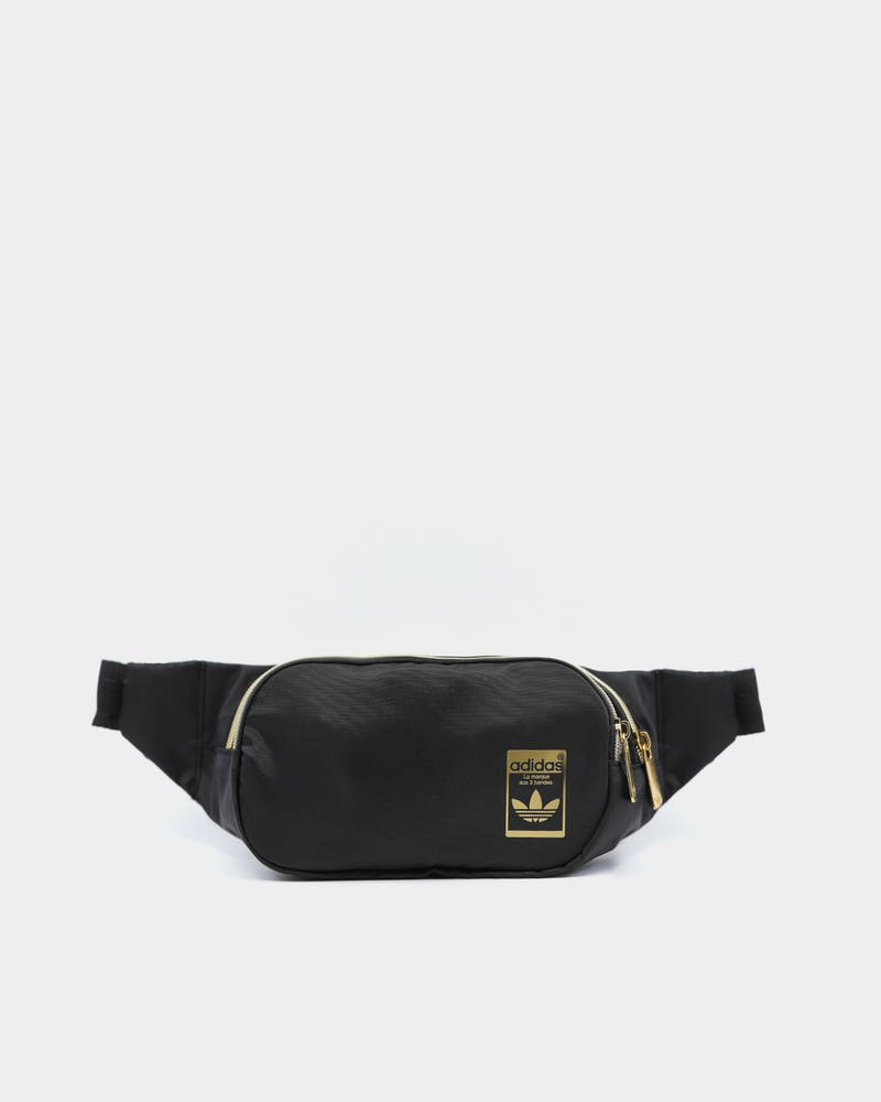 Adidas Unisex Waistbag Black/Gold