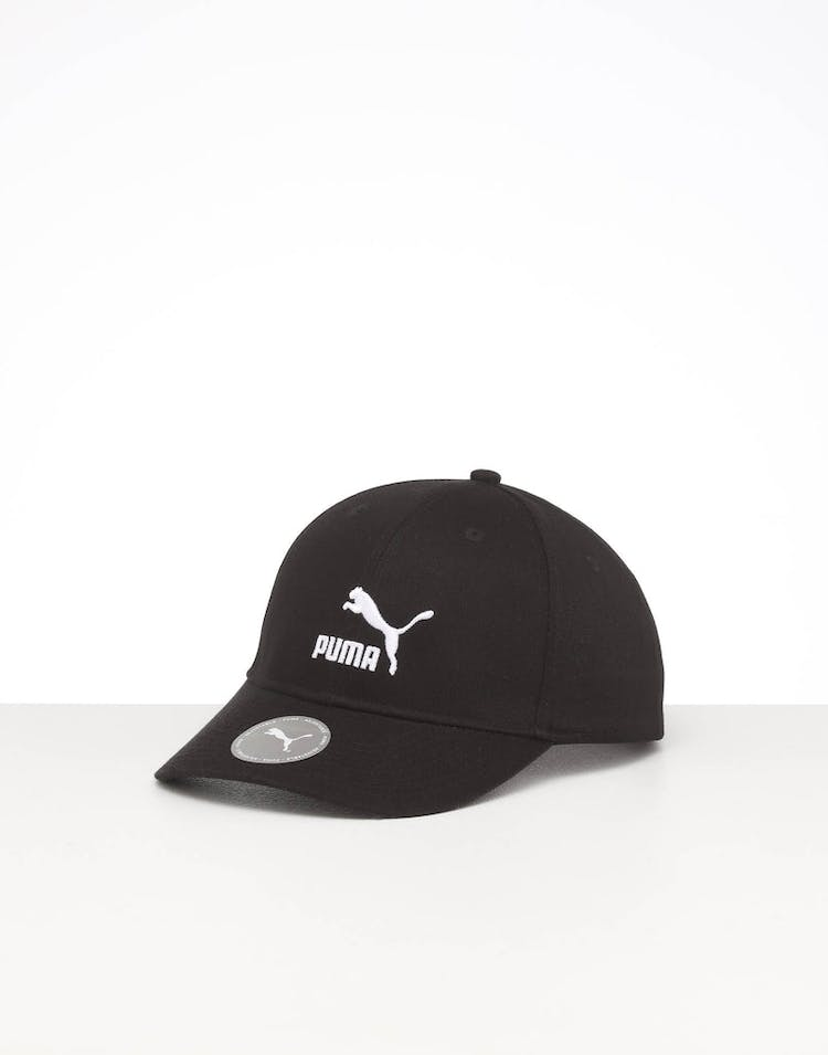 PUMA ARCHIVE LOGO BB CAP BLACK