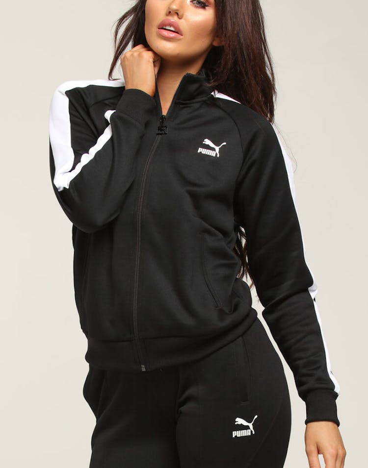 c0ba38bee217 Puma Women s Classics T7 Track Jacket Black – Culture Kings