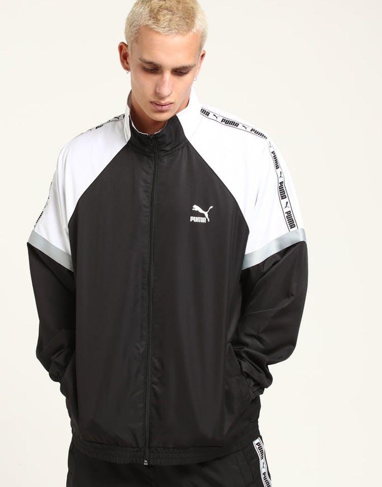 2ecb186c2 PUMA Retro Woven Jacket XTG Black