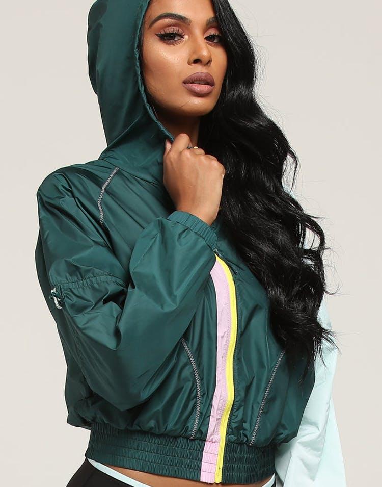 604399fd1 Puma Women's Cosmic Jacket TZ Pine/Aqua