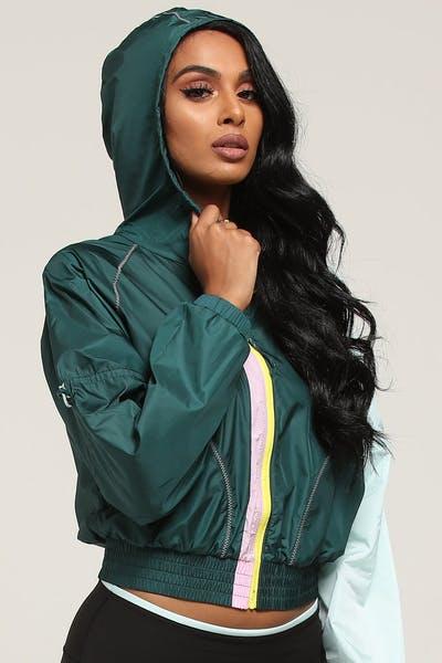 53ebce03137c Puma Women s Cosmic Jacket TZ Pine Aqua