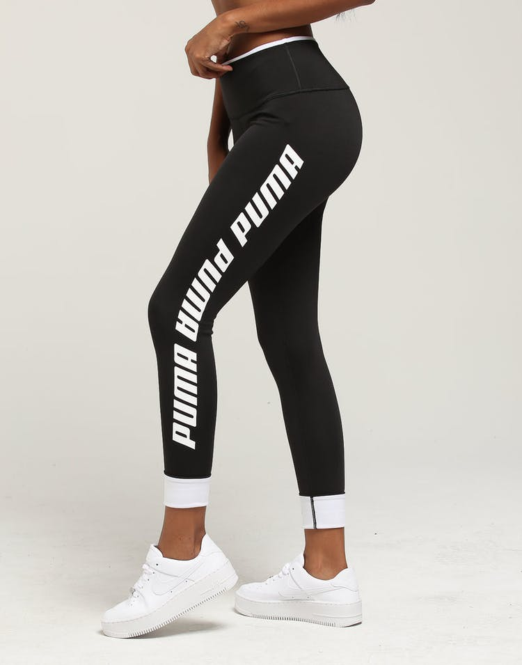 25dbf9b8492e0 Puma Women's Modern Sports Foldup Legging Black/White – Culture Kings