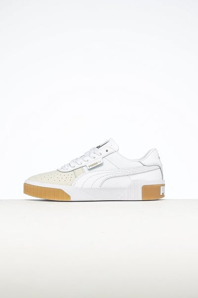 Puma Women's Cali Canvas White