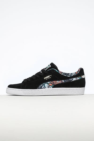 Puma Suede Secret Garden Black/White