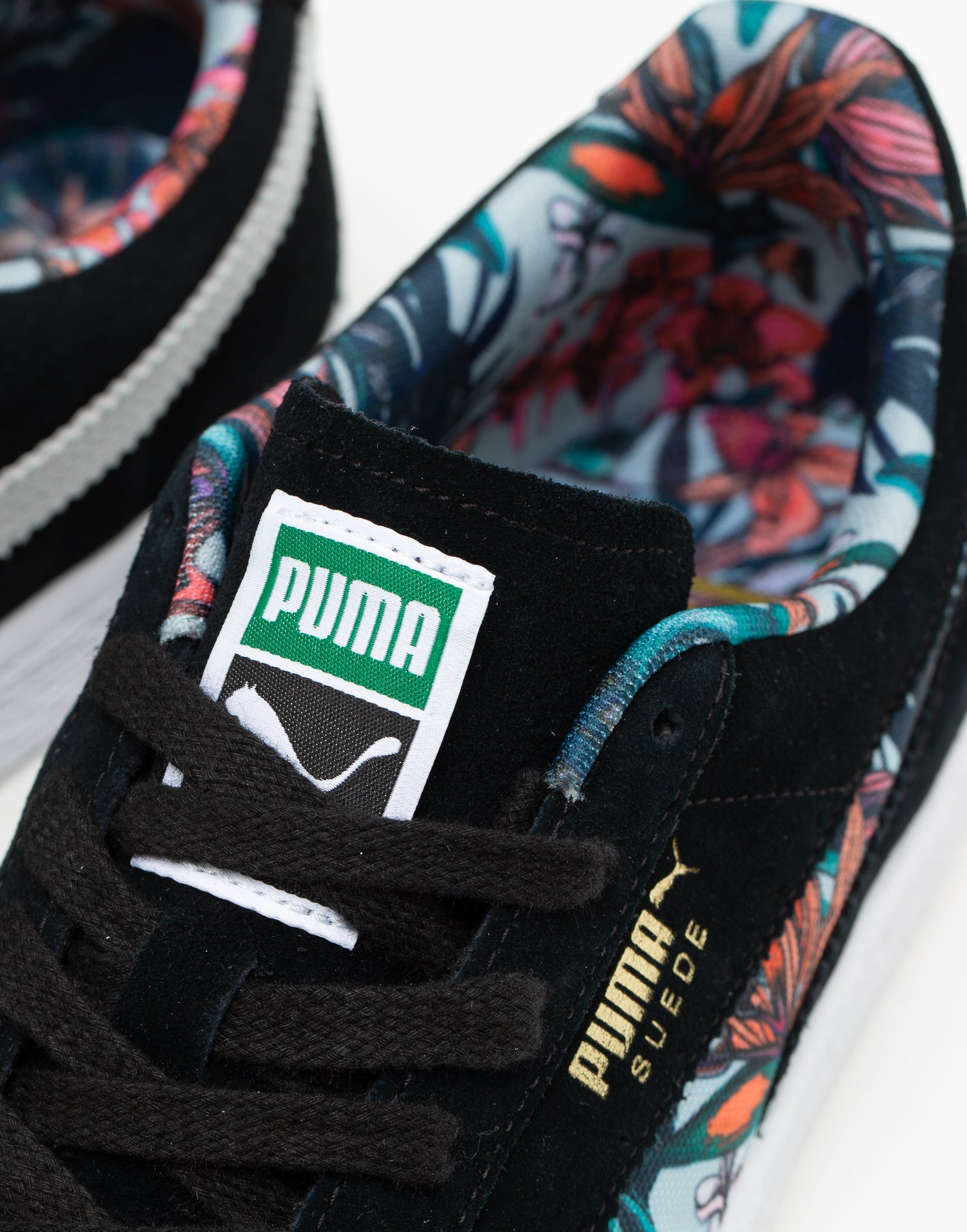Puma adidas aeroburner alloy sale | Suede Secret Garden BlackWhite