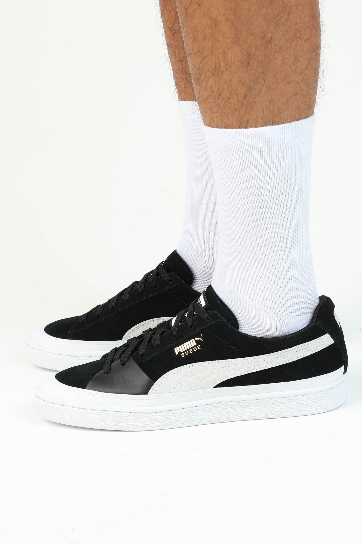Puma Suede NU Skate Black/White