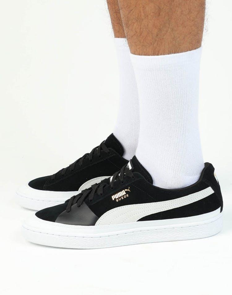 sélection premium d4c2e 2cf52 Puma Suede NU Skate Black/White